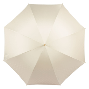 Зонт-трость Pasotti Ivory Pois Pelle фото-2