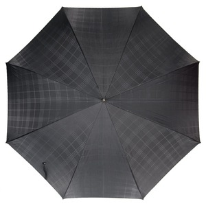 Зонт-трость Pasotti Jaguar Silver Cell Black фото-2