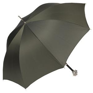 Зонт-трость Pasotti Leone Silver StripesS Oliva фото-4