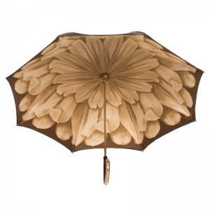 Зонт-трость Pasotti Marrone Georgin Beige Plastica фото-4