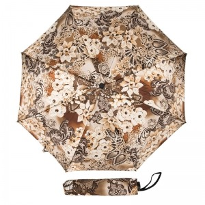 Зонт Складной Pasotti Mini Novita Beige фото-1