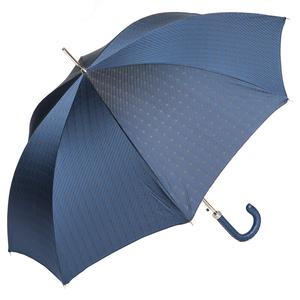 Зонт-трость Pasotti Mocasin Rombo Blu фото-4