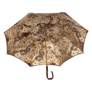 Зонт-трость Pasotti Marrone Novita Plastica Fiore фото-3