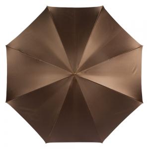 Зонт-трость Pasotti Marrone Spilla Pelle фото-2