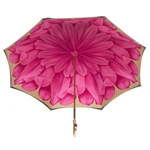 Зонт-трость Pasotti Nero Georgin Rosa Oro фото-4