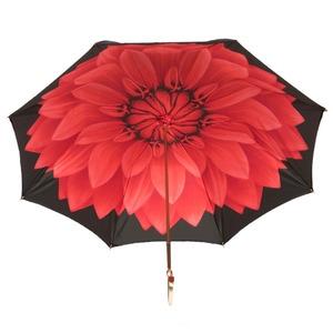 Зонт-трость Pasotti Nero Georgin Rosso Oro фото-4