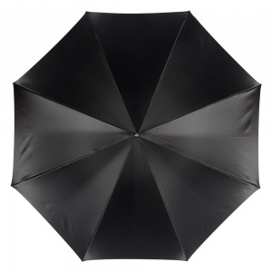 Зонт-трость Pasotti Nero Motivi Fiore Rosso Lux фото-2