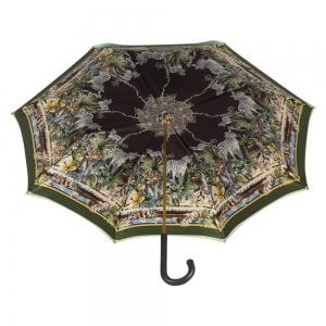 Зонт-трость Pasotti Oliva Africa Classic Pelle фото-3