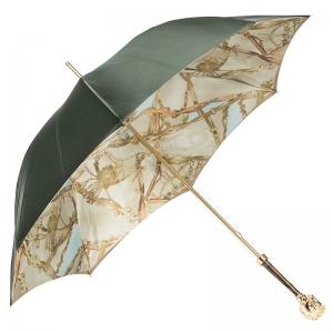 Зонт-трость Pasotti Oliva Rig Horse Oro фото-4