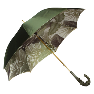 Зонт-Трость Pasotti Oliva Felce Pelle  фото-4
