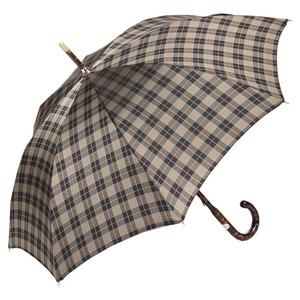 Зонт-трость Pasotti Smocked Hikory Diamond Marrone фото-4