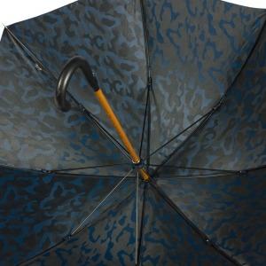 Зонт-трость Pasotti Pelle/Legno Divorzi Blu фото-3