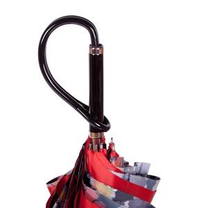 Зонт-трость Pasotti Rosso Buterfly Plastica фото-4