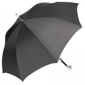 Зонт-трость Pasotti Tiger Silver StripesS Black фото-4