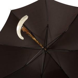 Зонт-трость Pasotti Tooth Milford Marrone фото-3