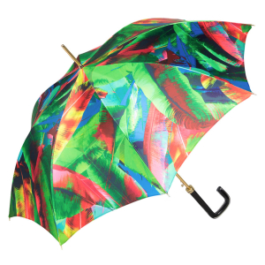 Зонт-трость Pasotti Uno Leaves Quattro фото-4