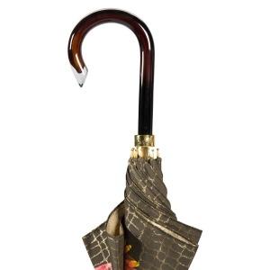 Зонт-трость Pasotti Uno Pazzle Black фото-3