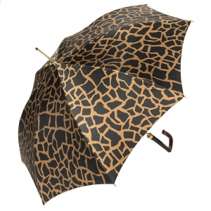 Зонт-трость Pasotti Uno Safari Marrone Quattro фото-4