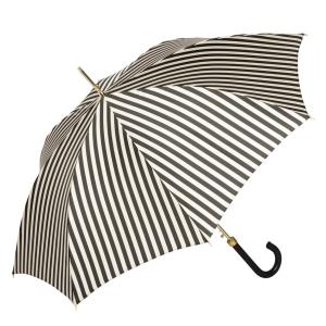 Зонт-трость Pasotti Uno Stripes Nero Beige фото-2