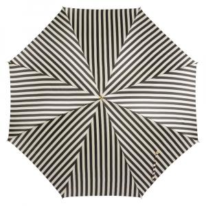 Зонт-трость Pasotti Uno Stripes Nero Beige Plastica фото-2