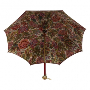 Зонт-трость Pasotti Bordo Motivi Glob фото-3