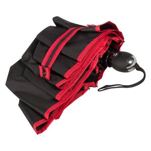 Зонт складной Baldinini 30015-OC Line red фото-4