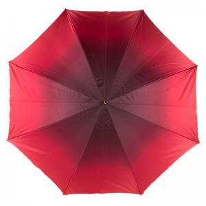 Зонт-трость Pasotti Becolore Rosso Rosa Oro Roza фото-2