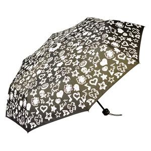 Зонт складной Baldinini 554-OM Melody Black  фото-3