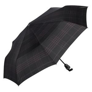 Зонт складной Bugatti 74662001-OC Check Black фото-2