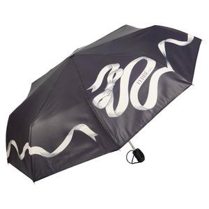 Зонт складной Ferre 6021-OC Tape Black фото-1