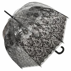 Зонт-трость прозрачный Jean Paul Gaultier 878-LM Transparent фото-5