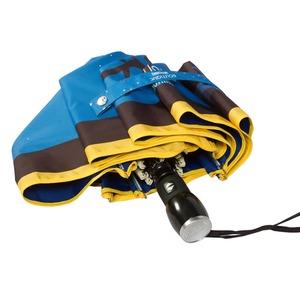 Зонт складной Moschino 7022-OCF Olivia Juliet Blue фото-4