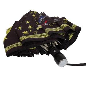 Зонт складной Moschino 7036-OCA Olivia Stars Black фото-4
