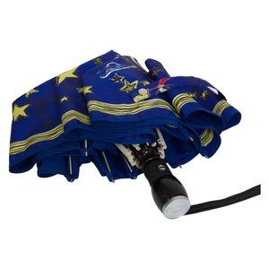 Зонт складной Moschino 7036-OCF Olivia Stars Blue фото-4