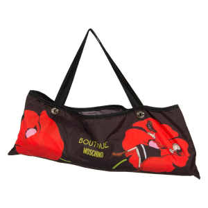Зонт складной Moschino 7520-OCC Olivia and Poppies Black/Red фото-4