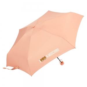 Зонт складной Moschino 8071-SuperminiN 100% Moschino Pink фото-2