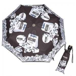 Зонт складной Moschino 8260-OCA Shopping Cartss Multi  фото-1