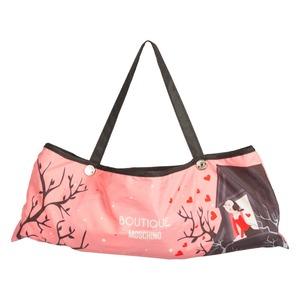 Зонт складной Moschino 7022-OCN Olivia Juliet Pink фото-4