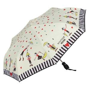 Зонт складной Moschino 7086-OCI Olivia Umbrellas Beige фото-2