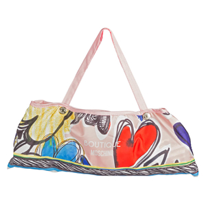 Зонт складной Moschino 7450-OCN Painted Hearts Pink фото-4