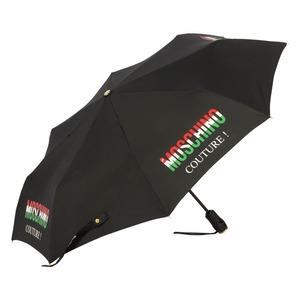 Зонт складной Moschino 8015-OCA Tricolore Black фото-2