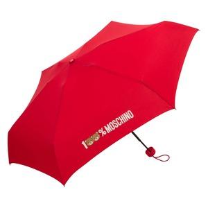 Зонт складной Moschino 8071-SuperminiIC 100% Moschino Red фото-2