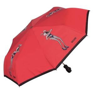 Зонт складной Moschino 8104-OCC Olivia Playboy Red фото-2