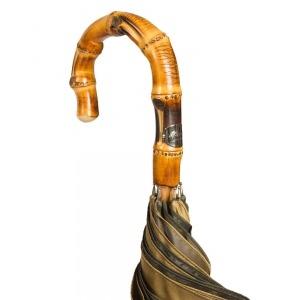Зонт-трость Pasotti Bamboo Multi Verde фото-4
