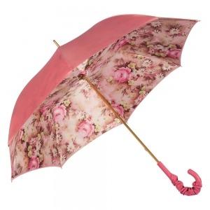 Зонт-трость Pasotti Magenta Daizy Pelle фото-5