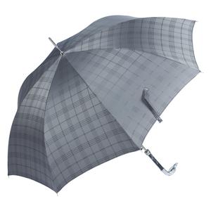 Зонт-трость Pasotti Bracco Silver Cell Grey фото-4