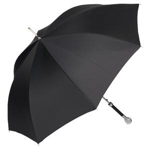 Зонт-трость Pasotti Ferro Silver StripesS Black фото-5