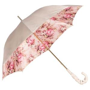 Зонт-трость Pasotti Ivory Daizy Pelle фото-5