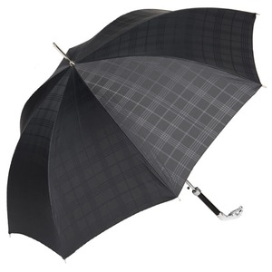 Зонт-трость Pasotti Jaguar Silver Cell Black фото-5