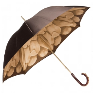 Зонт-трость Pasotti Marrone Georgin Beige Plastica фото-5